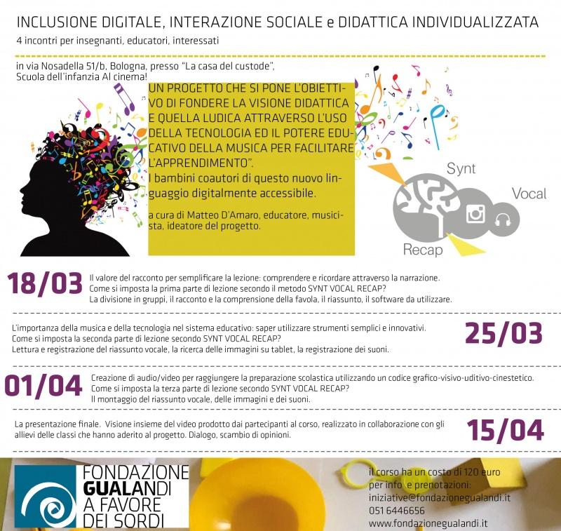 inclusione digitale volantino