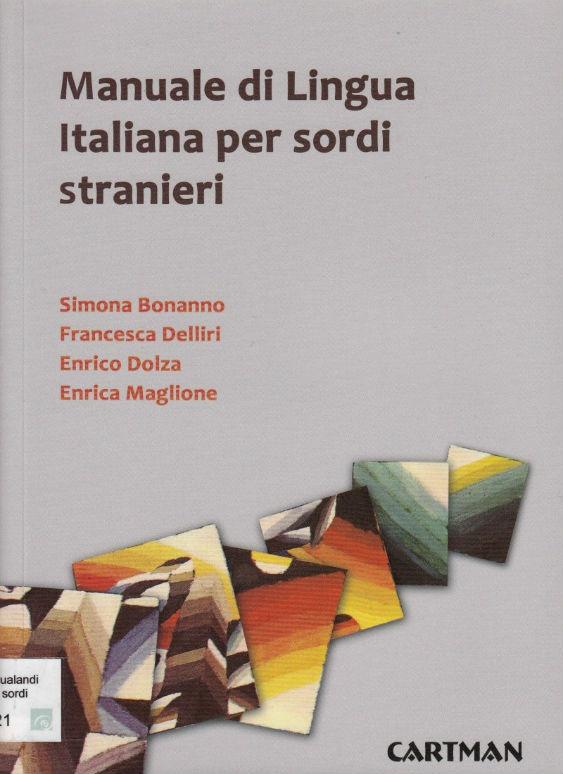 Manuale sordi stranieri copertina ridimensionata