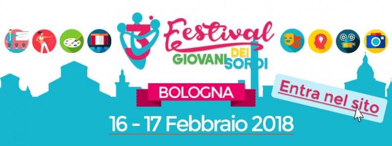 Festival dei Giovani Sordi a Bologna, 16-17 febbraio 2018