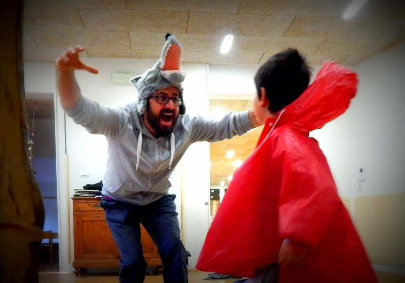 Laboratori bambini - gruppo 4/7 - 2016/17 - Cappuccetto Rosso