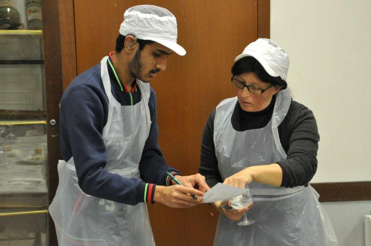 Cucine Popolari - durante il servizio